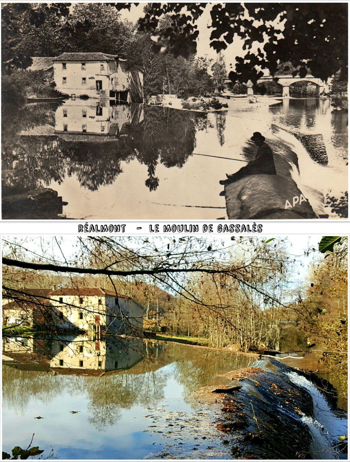 ● Le Dadou antan/aujourd-hui, Tarn, Occitanie.