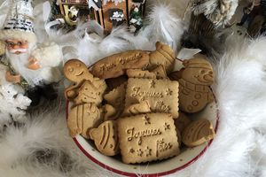 Biscuits de Noël au pain d'épices