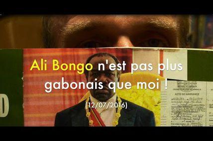 #Vidéo Ali Bongo n'est pas plus gabonais que moi ! par Grégory Protche (#Péan #Marianne)