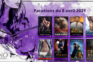 Parutions Juno Publishing du 8 avril 2021 (MM)