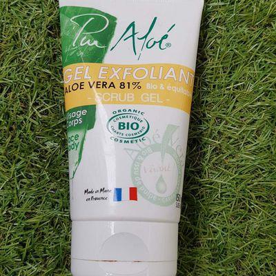 Le Gel exfoliant Pur' Aloé , un produit magique !
