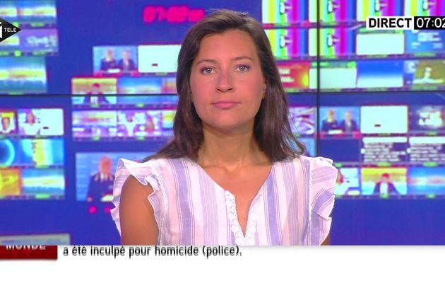 ALICE ROUGERIE pour LA MATINALE WEEK-END du 2016 06 18 sur i>tele