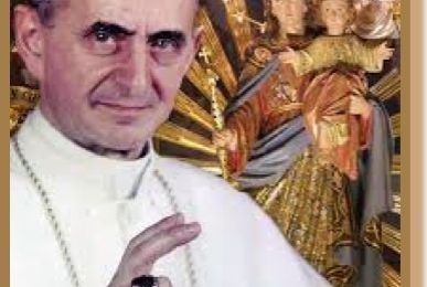 14 octobre Canonisation de saint Paul VI, pape ( 1963 - 1978)