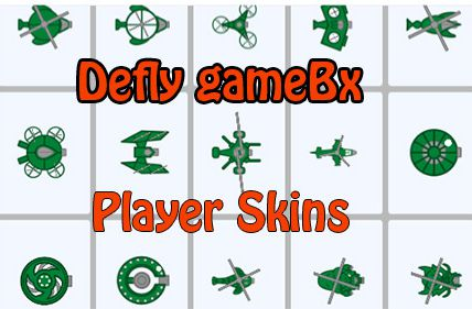 Player Skins on Defly Game