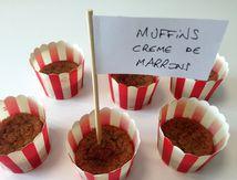Muffins crème de marron