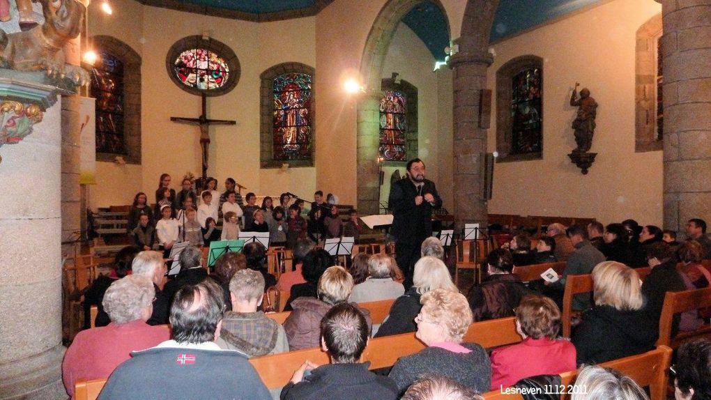 Concert de L'Ecole de Musique Lesneven Décembre 2011