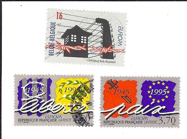 objets inanimés : des timbres