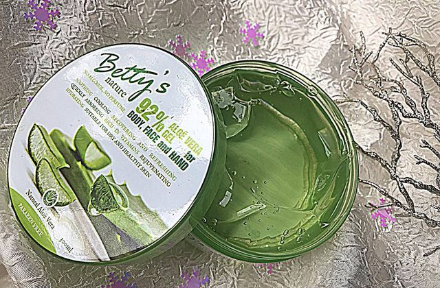 Gel à base d'Aloe vera - Betty's Nature 💦