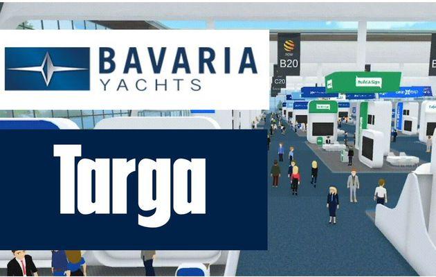 Bavaria et Targa présents sur le Virtual Nautic, les 12 et 13 mars