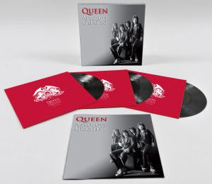NOUVELLE AQUISITION - QUEEN ABSOLUTE GREATEST VINYL BOXSET