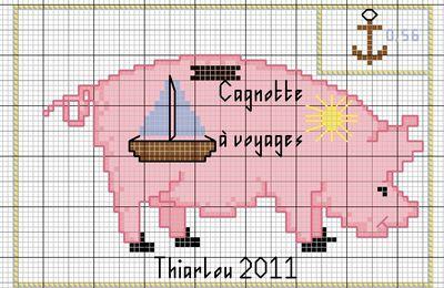 """Carte postale et son timbre...""""Cagnotte à voyages""""..."""