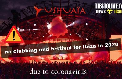 ⚠️ no clubbing and festival for Ibiza in 2020, due to coronavirus ⚠️