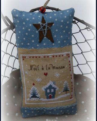 Noël sous la neige, carré 1