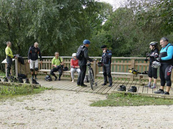 Week-end Roller sur les bords de Marne du côté d'Epernay