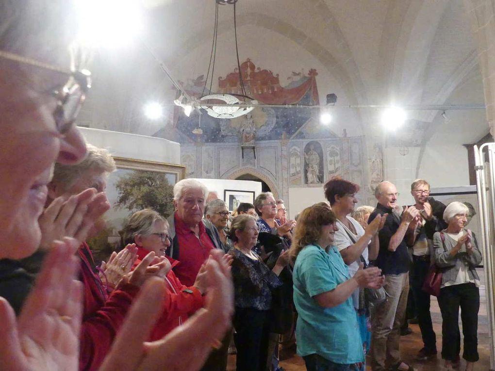 Poursuite du concert dans l'église saint Pierre