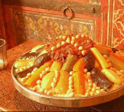 Recette de couscous  marocain / RAMADAN DE RECIPES