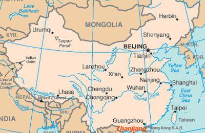 29 mai - 5 juin 2010 - Le délégué de l'association AUX MARINS en Chine , à Zhanjiang , ex-FORT-BAYARD