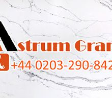 Contact 0203-290-8427 for White Galaxy Quartz at the Astrum Granite