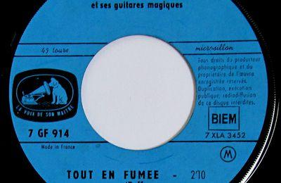 Burt Blanca et ses guitares magiques - Tout en fumée (puff) - 1963