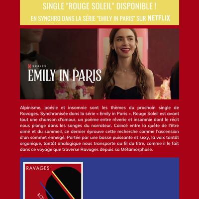 """RAVAGES : """"Rouge Soleil"""", en synchro sur Netflix !"""