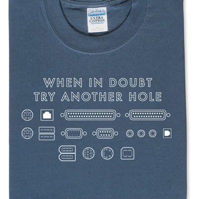 T-shirt de geek