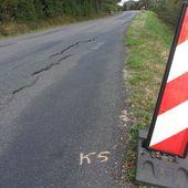 Les routes du Cher se fissurent à cause de la sécheresse