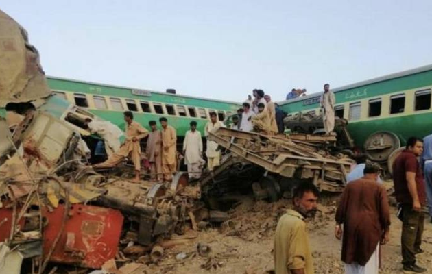 Train derails in Pakistan: At least one killed, more than 40 injured
