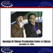 Bono et The Edge -Clinton Presidential Center and Library -USA 18/11/2004 - U2 BLOG