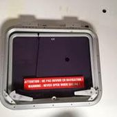URGENT - recall campaign for defective Goiot escape hatches installed on most catamarans - Yachting Art Magazine