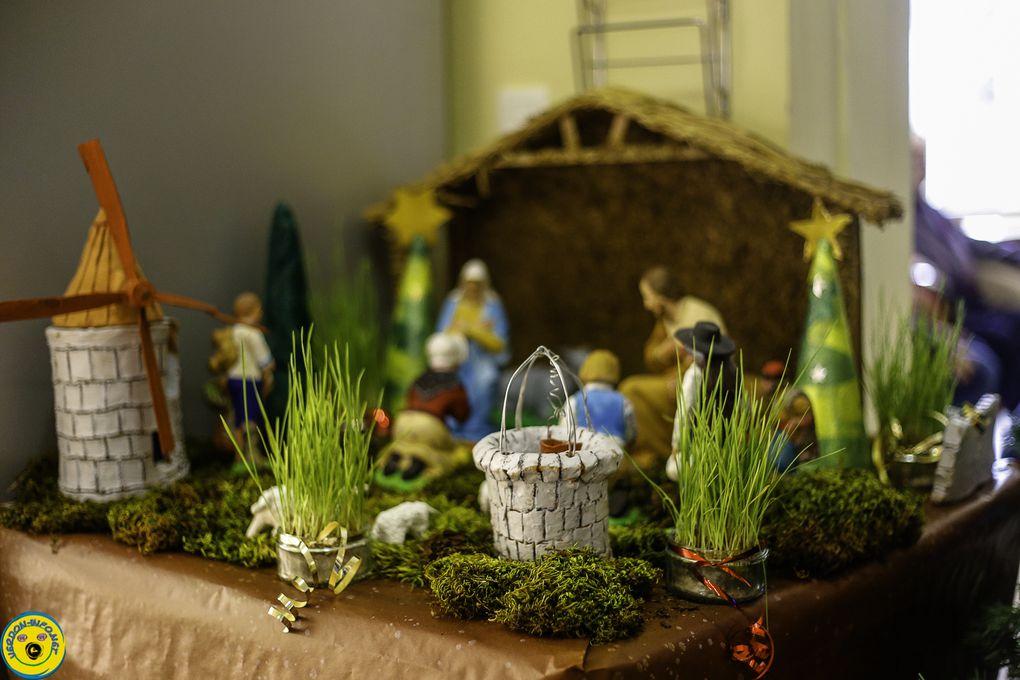 St André les Alpes  : Le Noël de la Maison de retraite les Carlines