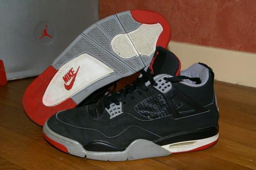 Nike Air Jordan IV Rétro 1999 Cement Grey