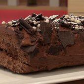Bûche au chocolat express