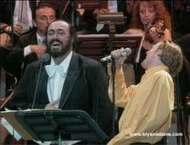 NOSTALGIE : Bryan Adams & Luciano Pavarotti - 'O Sole Mio