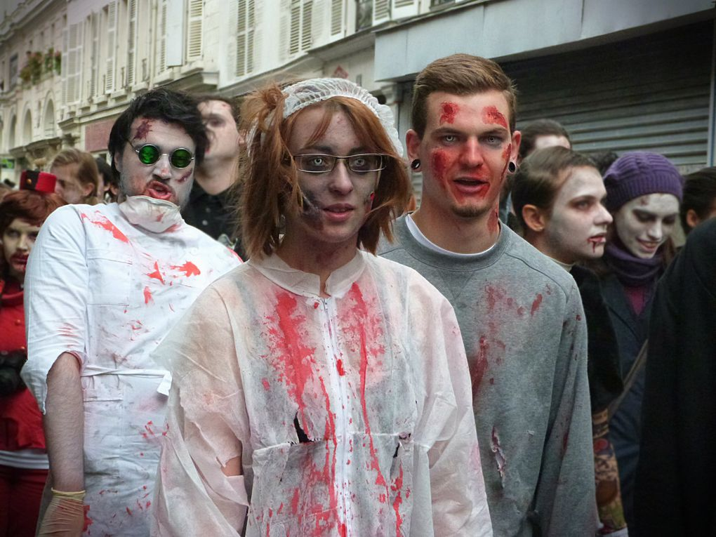 Zombie Walk de Paris 2014