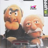 34 FORD SEDAN DELIVERY HOT WHEELS 1/64 STATLER ET WALDORF MUPPET' SHOW - MASTERS OF UNIVERSE - LES MAITRES DE L'UNIVERS - car-collector.net