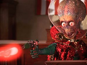 👽🎬 TIM BURTON - MARS ATTACKS ! (1996)