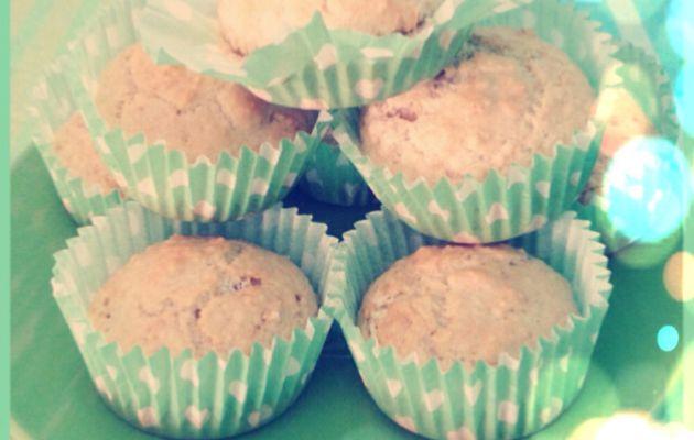 muffin vaniglia e mandorle