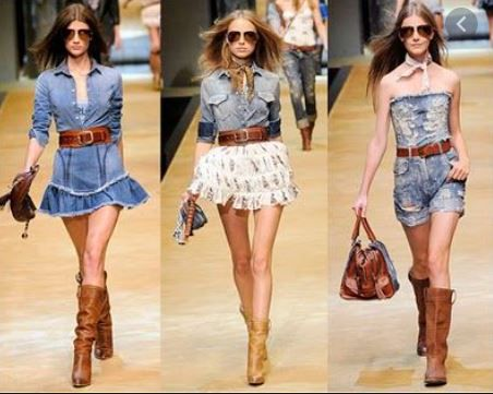 Stile country moda