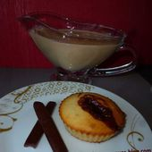 Muffinanciers aux carambars et crème anglaise aux carambars - auxdelicesdemanue