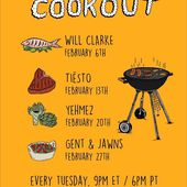 Tiësto tracklist and mp3 | The Cookout | Radio Electric Area, Sirius XM - february 13, 2018 - TiestoLive - News Tiësto