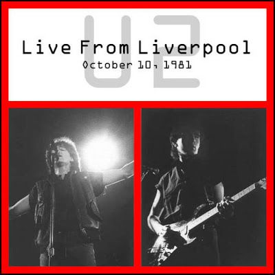 U2 -October Tour -10/10/1981 -Liverpool  -Angleterre -Royal Court Theater