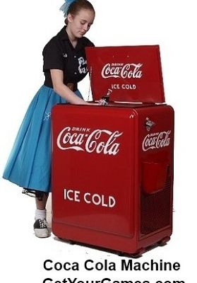Own Your personal Nostalgic Reproduction Coca Cola Machine!