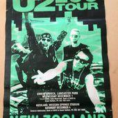U2 -Affiche Concert -Lancaster Park -Nouvelle-Zélande -01/12/1993 - U2 BLOG
