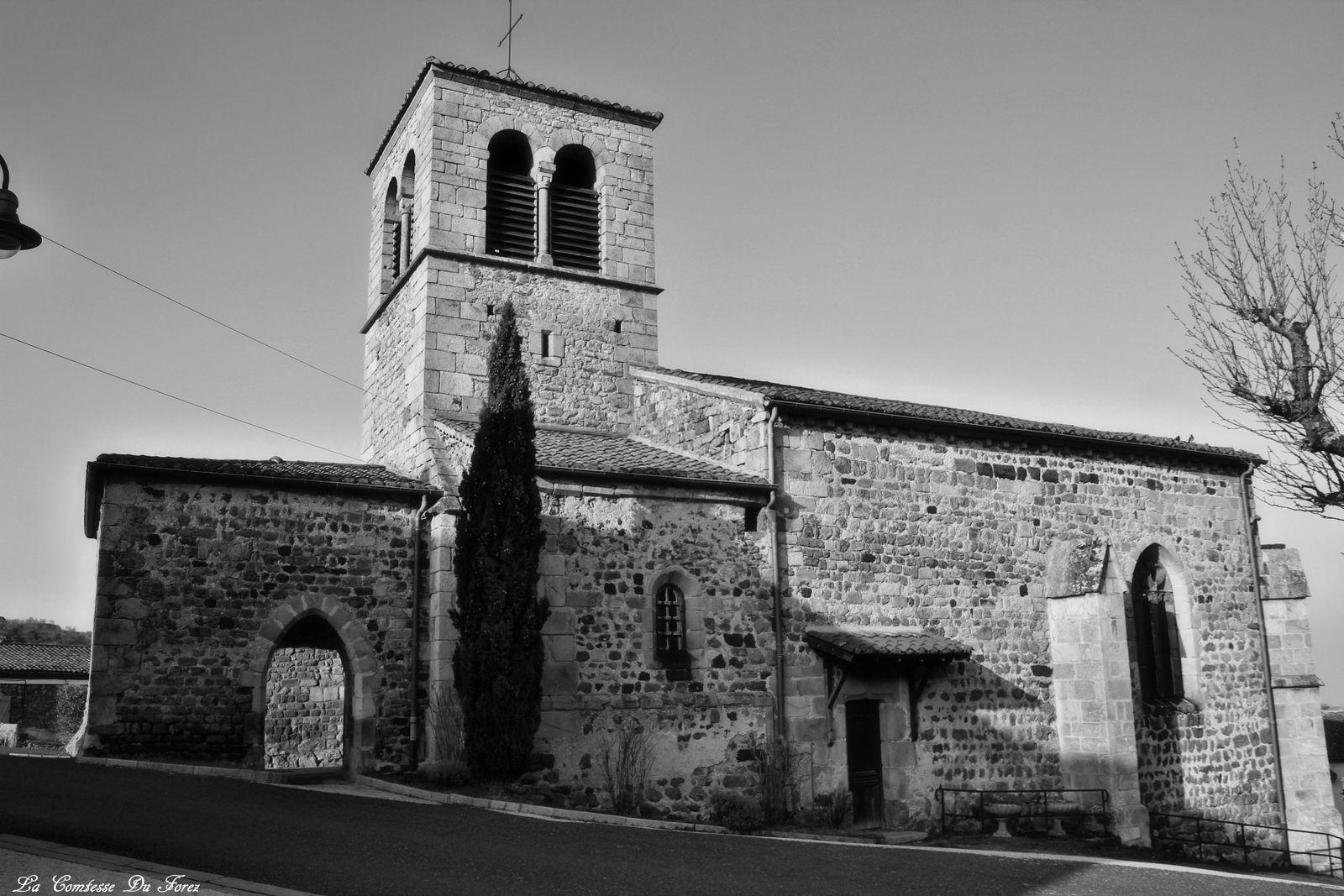 Eglise d'Essertines-en-Châtelneuf (Loire, 42)