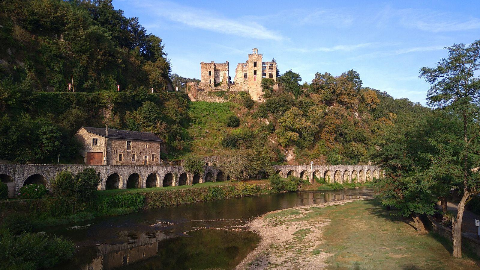 Séjour à Najac ( Aveyron)