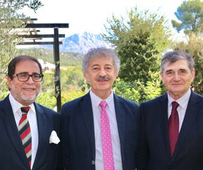 Les pionniers d'Éducadre en 2015: Claude Picano, Alain Yaïche (à gauche) et José Fouque (à droite)