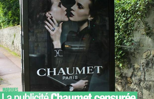 La publicité Chaumet censurée dans la ville du Pecq ! #Chaumet