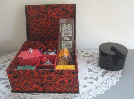 Une boîte à thé pour la Fête des mères ...