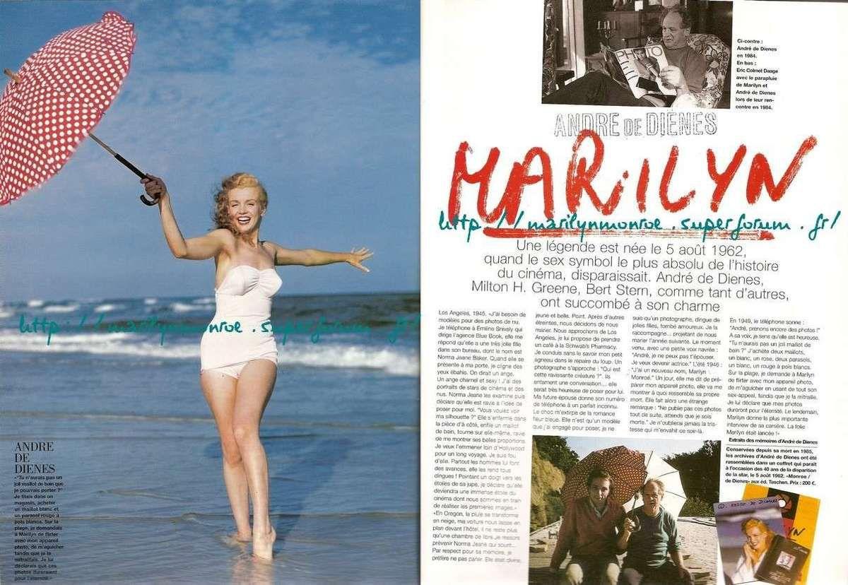 Marilyn par Andre de Dienes