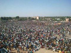 Forte Mobilisation a Ouagadougou ce Mardi 28 Oct